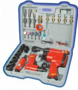 Mannesmann 15033 Set d'outils air comprimé avec accessoires 33 pièces (Import Allemagne) de la marque Brüder Mannesmann image 0 produit