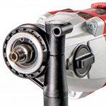 Metabo 600787500Perceuse à percussion SBE 850–2S | Mandrin rapide Futuro Plus, poignée, butée gauche, coffre | V électronique/S Automatic/Droite (850W Vitesse de rotation/36nm/0–3100/min) de la marque Metabo image 2 produit