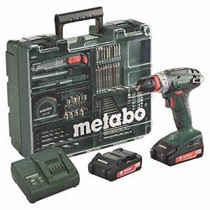 Metabo BS 18Quick Set Perceuse-visseuse sans fil 18V/2,0Ah, Atelier mobile 602217880 de la marque Metabo image 0 produit