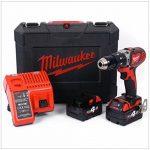 Milwaukee 4933443520–M 18bpd-402C Perceuse à percussion 18V 4,0Ah LITHIUM 2Vel. 60nm de la marque Milwaukee image 1 produit