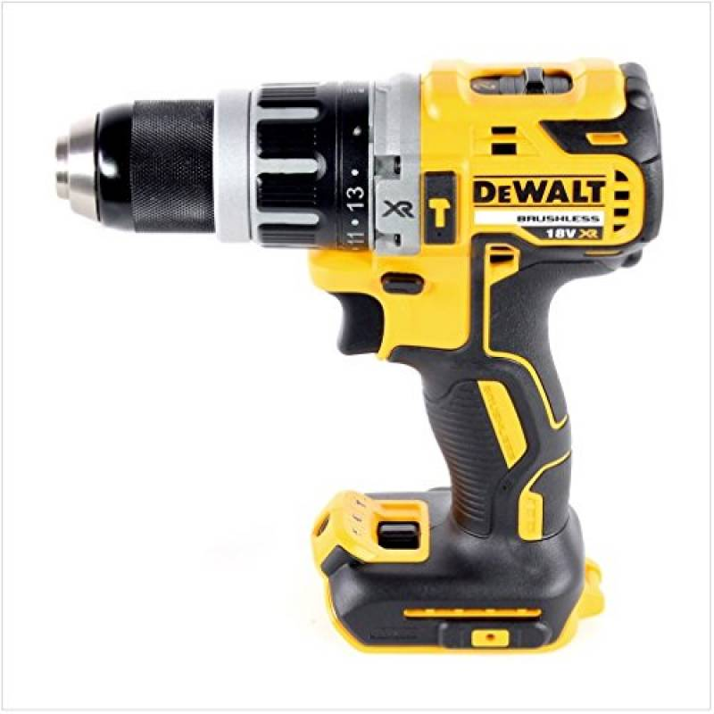 DEWALT DCD796P1-GB XR Brushless Compact Lithium-Ion Combi Perceuse 18 V jaune...