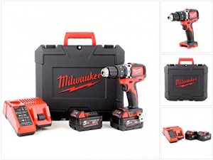 Perceuse à percussion Brushless Milwaukee M18 BLPD-502C 18V - 2 batteries 5.0Ah - 1 chargeur 4933448472 de la marque Milwaukee image 0 produit