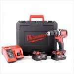 Perceuse à percussion Brushless Milwaukee M18 BLPD-502C 18V - 2 batteries 5.0Ah - 1 chargeur 4933448472 de la marque Milwaukee image 1 produit