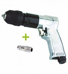 """Perceuse pneumatique réversible automatique de 10mm pour compresseur d'air avec raccord mâle de 1/4"""" 18 000 tr/min de la marque RZ image 0 produit"""