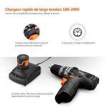 Perceuse Visseuse Sans Fil TACKLIFE PCD01B Batterie Rechargeable au Li-ion 12V 2000mAh, Charge Rapide 1h, Chargeur 100V-240V Max Torque 27N.m, 19+1 Réglage du Couple avec 14pcs Accessoires de la marque TACKLIFE image 3 produit