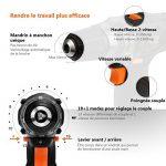 Perceuse Visseuse Sans Fil TACKLIFE PCD03B (2 Batteries Li-ion 12V 2000mAh, Couple 27Nm, 2 Vitesses, 19+1 Possition, Chargeur Rapide 100V-240V, Mandrin Auto-serrant 10mm, 14pcs Accessoires de la marque TACKLIFE image 2 produit