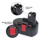 REEXBON Batterie Bosch 18V 2.0Ah NIMH, Remplacement Batterie pour Bosch PSR 18 VE-2 PSB 18 VE GSB18VE-2 BAT025 BAT026 BAT160 BAT180 BAT181 BAT189 2607335265 2607335266 2607335270 2607335277 de la marque REEXBON image 1 produit