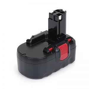 REEXBON Batterie Bosch 18V 2.0Ah NIMH, Remplacement Batterie pour Bosch PSR 18 VE-2 PSB 18 VE GSB18VE-2 BAT025 BAT026 BAT160 BAT180 BAT181 BAT189 2607335265 2607335266 2607335270 2607335277 de la marque REEXBON image 0 produit
