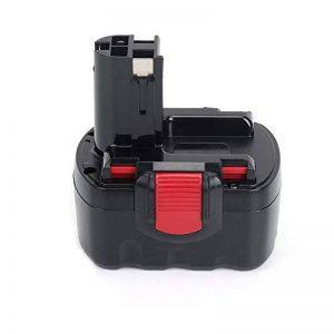 REEXBON Bosch Batterie 14.4V 2.0Ah NIMH pour Bosch PSR 1440 PSR 14.4 PSR 14.4-2 GSR 14.4V GSR 14.4VE-2 GSB 14.4VE-2 PAG 14.4V PSB 14.4V 41ACCU 2607335685 2607335694 2607335275 2607335276 BAT038 de la marque REEXBON image 0 produit