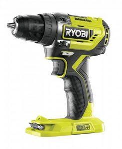 Ryobi r18dd5–0ONE + Perceuse visseuse sans balais de 18V, sans batterie, 0W, 18V, vert, Standard de la marque Ryobi image 0 produit