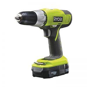 Ryobi R18DDP-LL13G Perceuse Simple Électrique sans fil 18 volts/1.3 amps Mandrin Autoserrant de la marque Ryobi image 0 produit