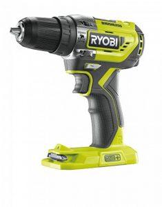 Ryobi r18pd5–0Perceuse à Percussion One + sans balais de 18V, sans batterie, 0W, 18V, vert, Standard de la marque Ryobi image 0 produit