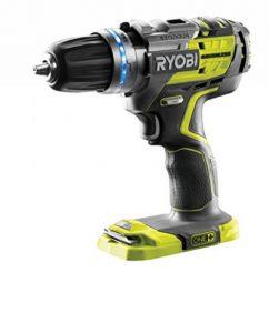 Ryobi R18PDBL-0 Perceuse à Percussion Électrique sans fil 18 volts Mandrin Autoserrant de la marque Ryobi image 0 produit