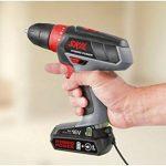 Skil 2461 AA Perceuse/visseuse sans fil - en utilisant soit la batterie, soit le câble - 16V Max de la marque SKIL image 1 produit