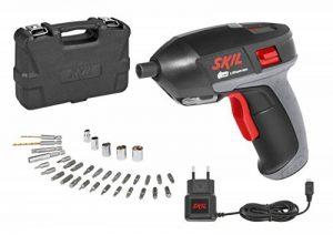 Skil F0152636ADVisseuse sans fil 3,6V avec Chargeur USB (Li-ion 1,5Ah, 7 Nm, LED Lampe, 35 pièces Set d'accessoires, Coffret) de la marque SKIL image 0 produit
