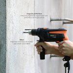 TACKLIFE Perceuse Percussion, 12pcs Kit d'accessoires, Perceuse à Percussion710W 2800RPM, Perforateur Taille de Mandrin 0-13mm, Poignée Rotative à 360° | PID01A de la marque TACKLIFE image 3 produit