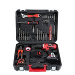 TEENO Perceuse visseuse sans fil PSR 21V+ 2 batteries lithium + 41 accessoires+ gants professionnels de la marque TEENO image 1 produit