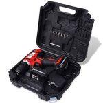 vidaXL Kit de Perceuse-visseuse Sans Fil avec Batteries Li-ion 18 V Forage de la marque vidaXL image 1 produit